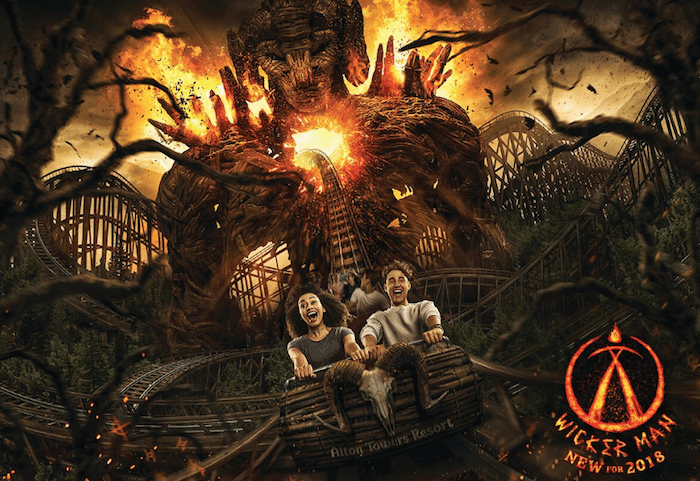 Alton Towers invests £16m into roller coaster of wood and fire – and people have questions
