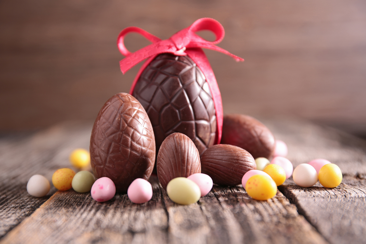 Shoppers are set to spend ?395m on Easter eggs this year