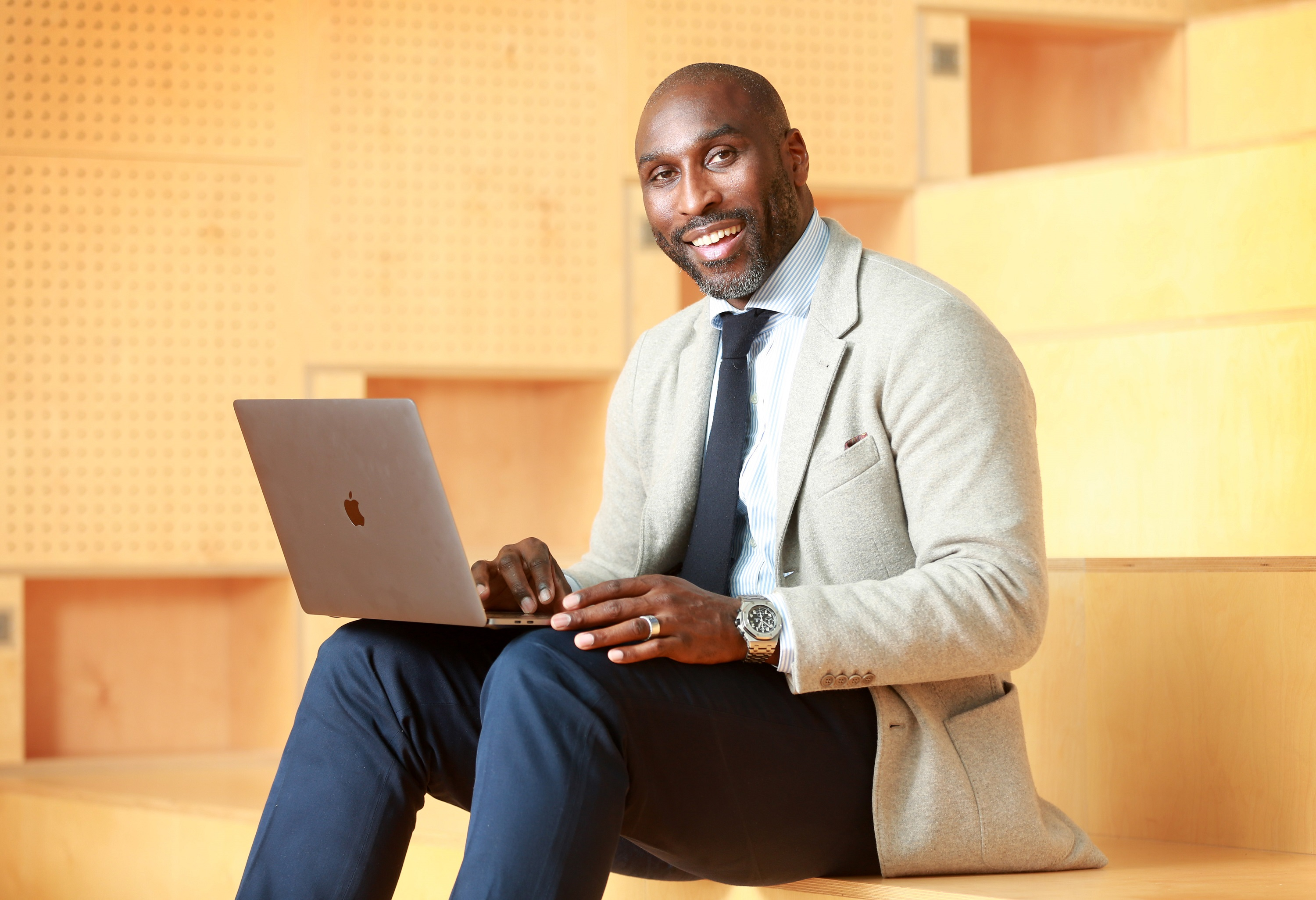 Sol Campbell finds business ownership a natural fit after football career
