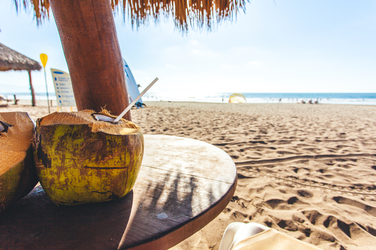 What do you need to run a business successfully from a sunny beach?