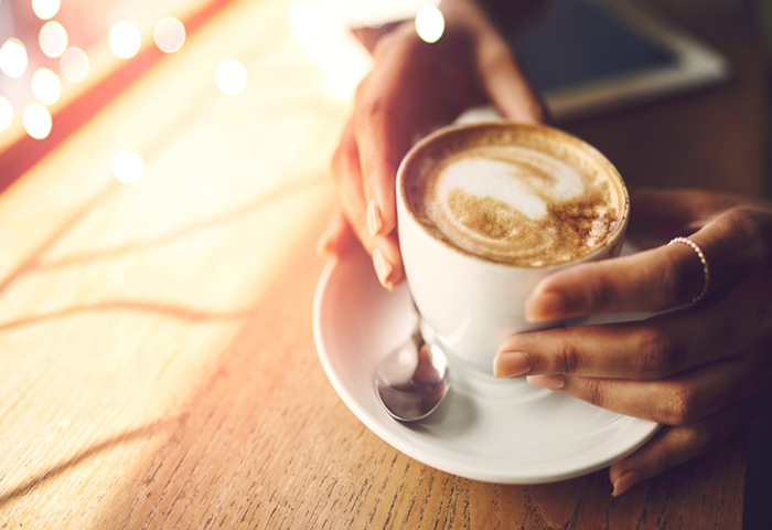 The positives that can come from a humble coffee break