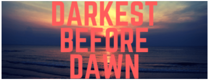 Darkest before dawn - entrepreneurs share their struggles