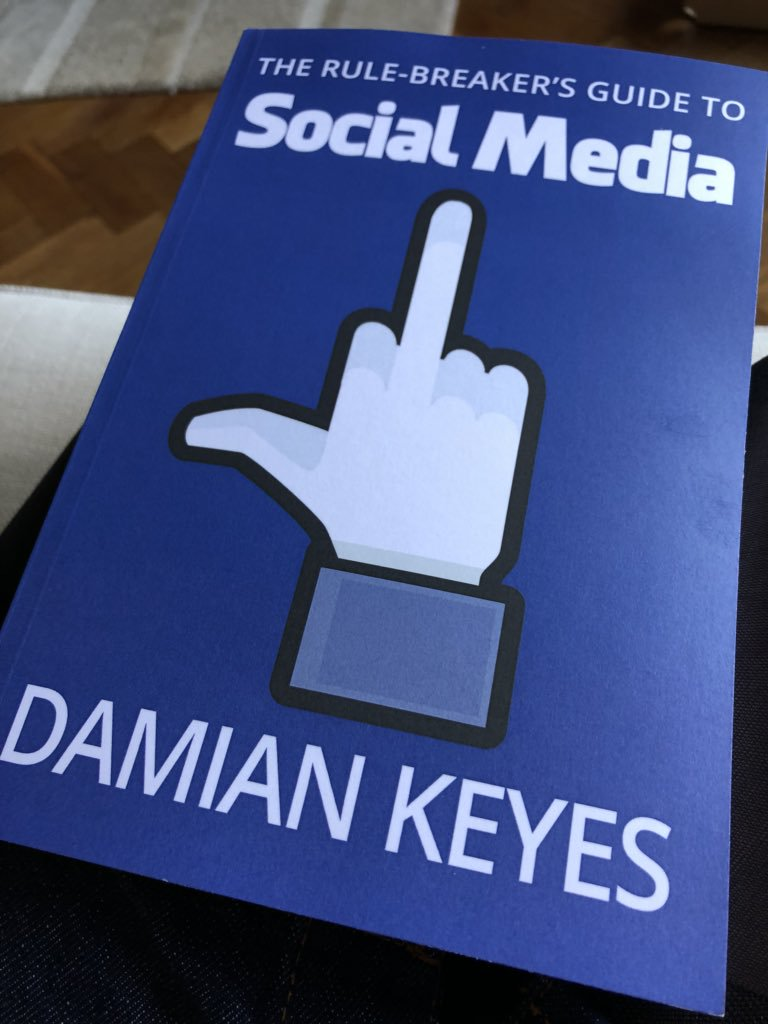 Read Damian Keye's new social media marketing book