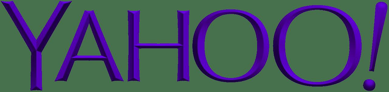 Yahoo's current logo