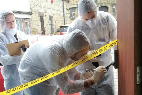 Choose a crime scene investigation experience for your next team building activity