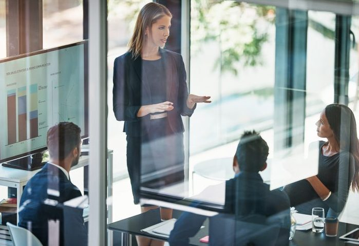 Being a female CEO in a male-dominated company