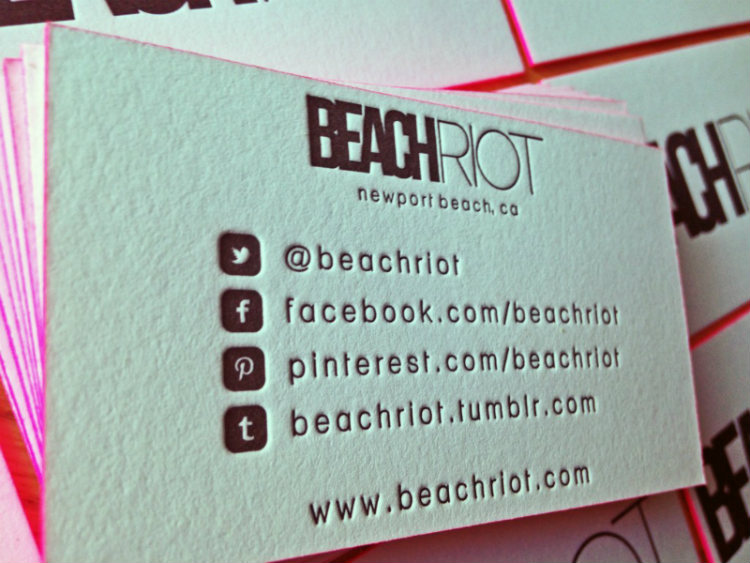The comprehensive social media business card