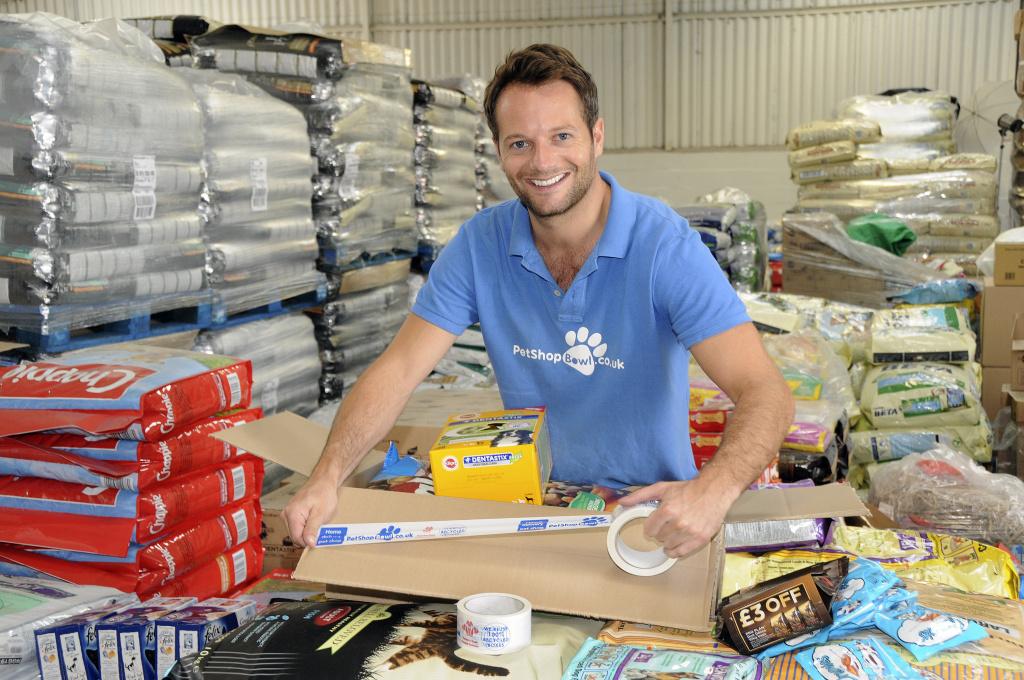 Adam Taylor, CEO of Petshop.co.uk