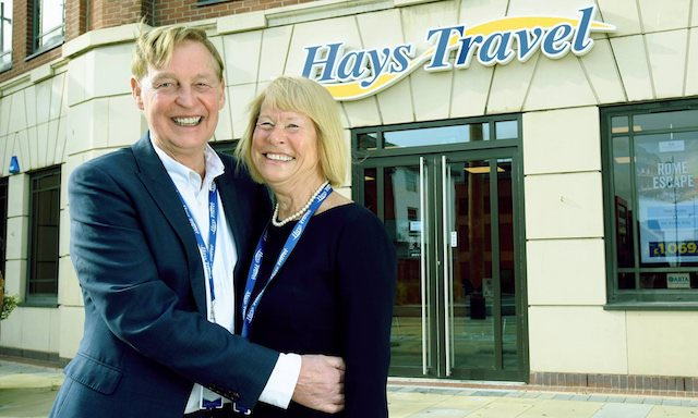 Will this couple run SME save the traditional travel agent sector?