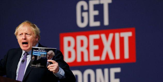 Boris Johnson manifesto