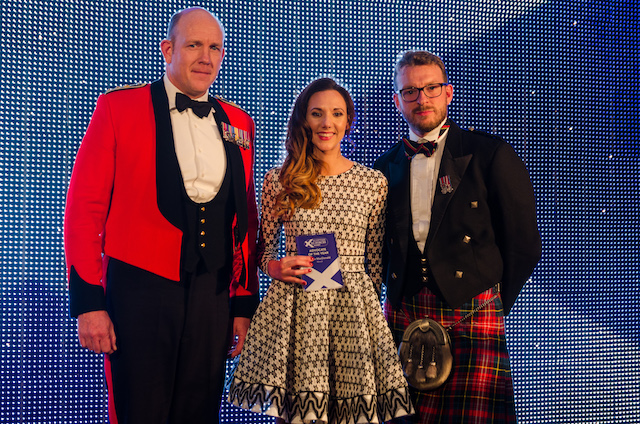 The Ex-Forces in Business Awards touches down in Scotland