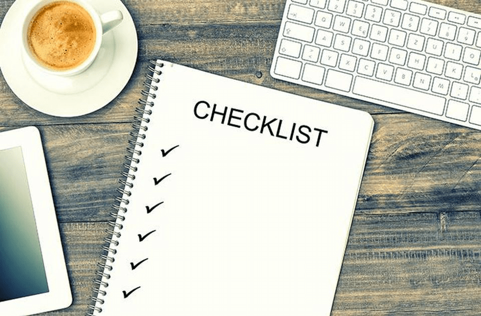 A 20 point checklist for launching your business