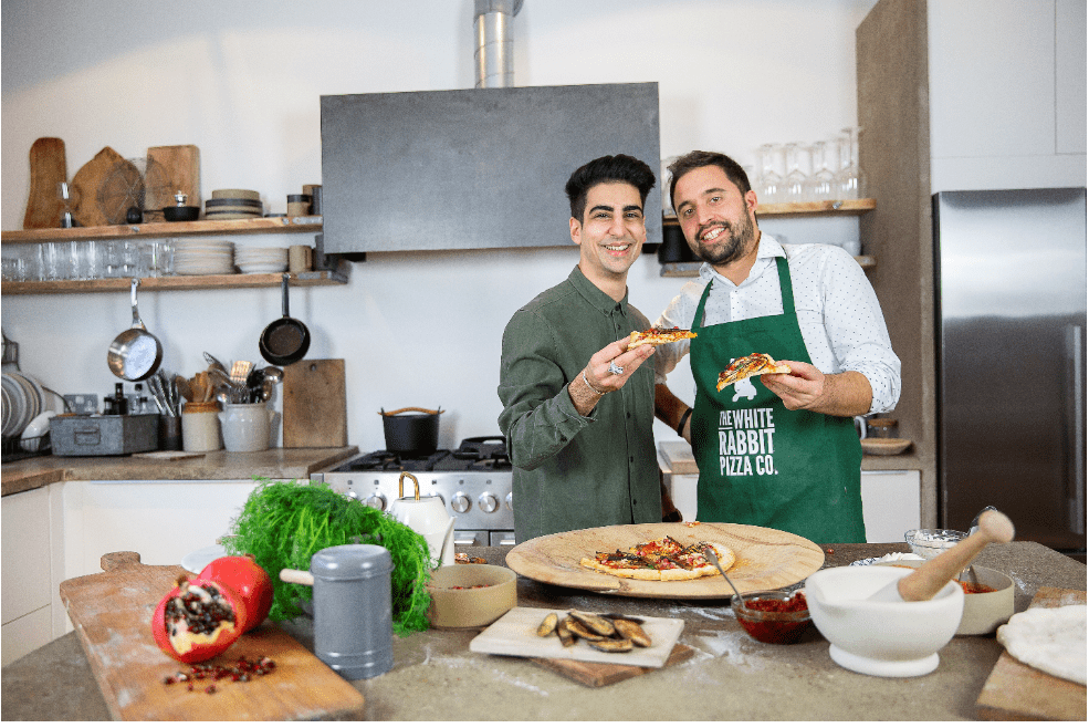 """Meet the pizza duo cutting through the """"free-from"""" market"""