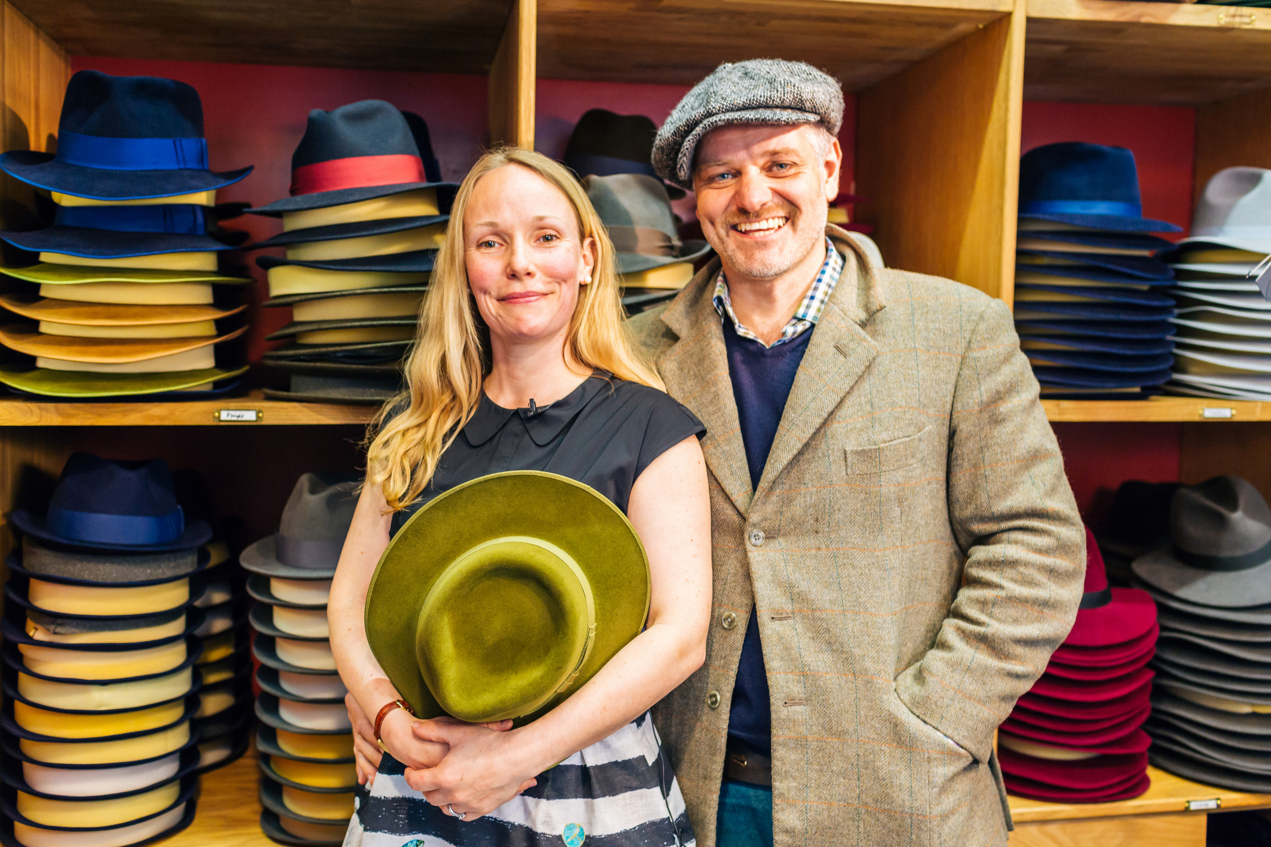 Who wants to be a milliner? British hat makers Laird Hatters turn over £1.8m from Hollywood hat craze