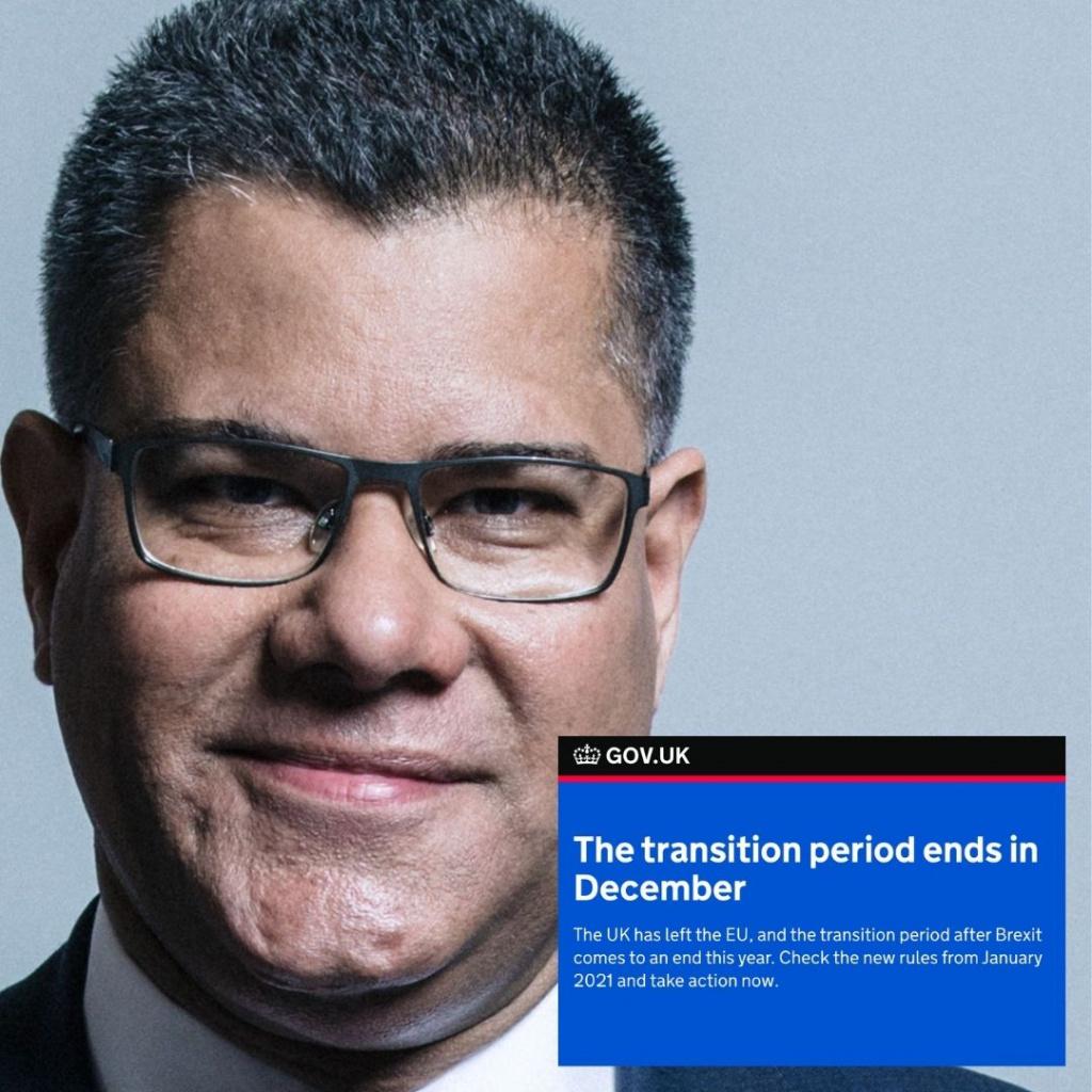 Alok Sharma Business Secretary on preparing for Brexit transition