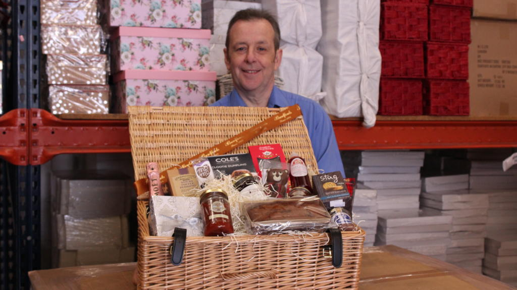 James McGoldrick, co-owner of Bradford Gifts