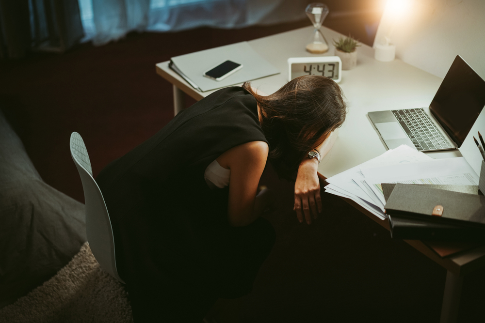 Employee 'burnout spike' warning for January: 24% rise for UK employees searching for symptoms