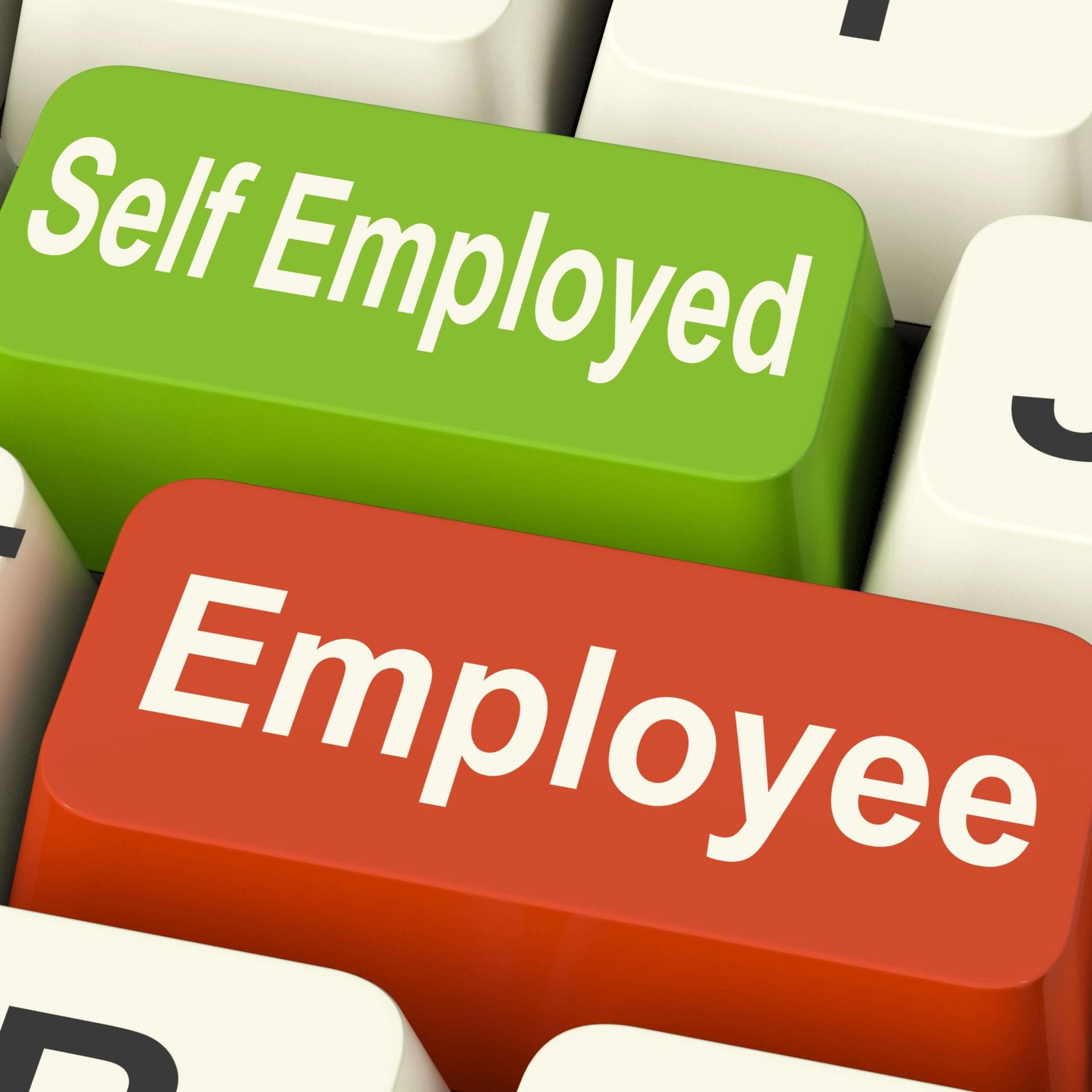 Is it better to be self-employed or employed?