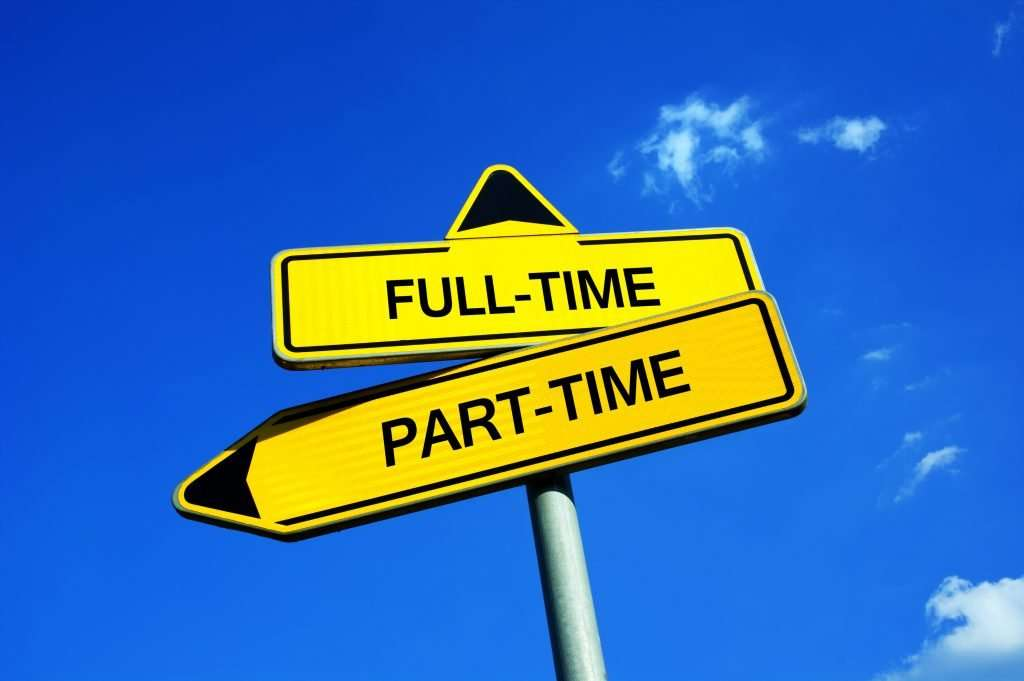 Should you hire part-time or full-time employees?