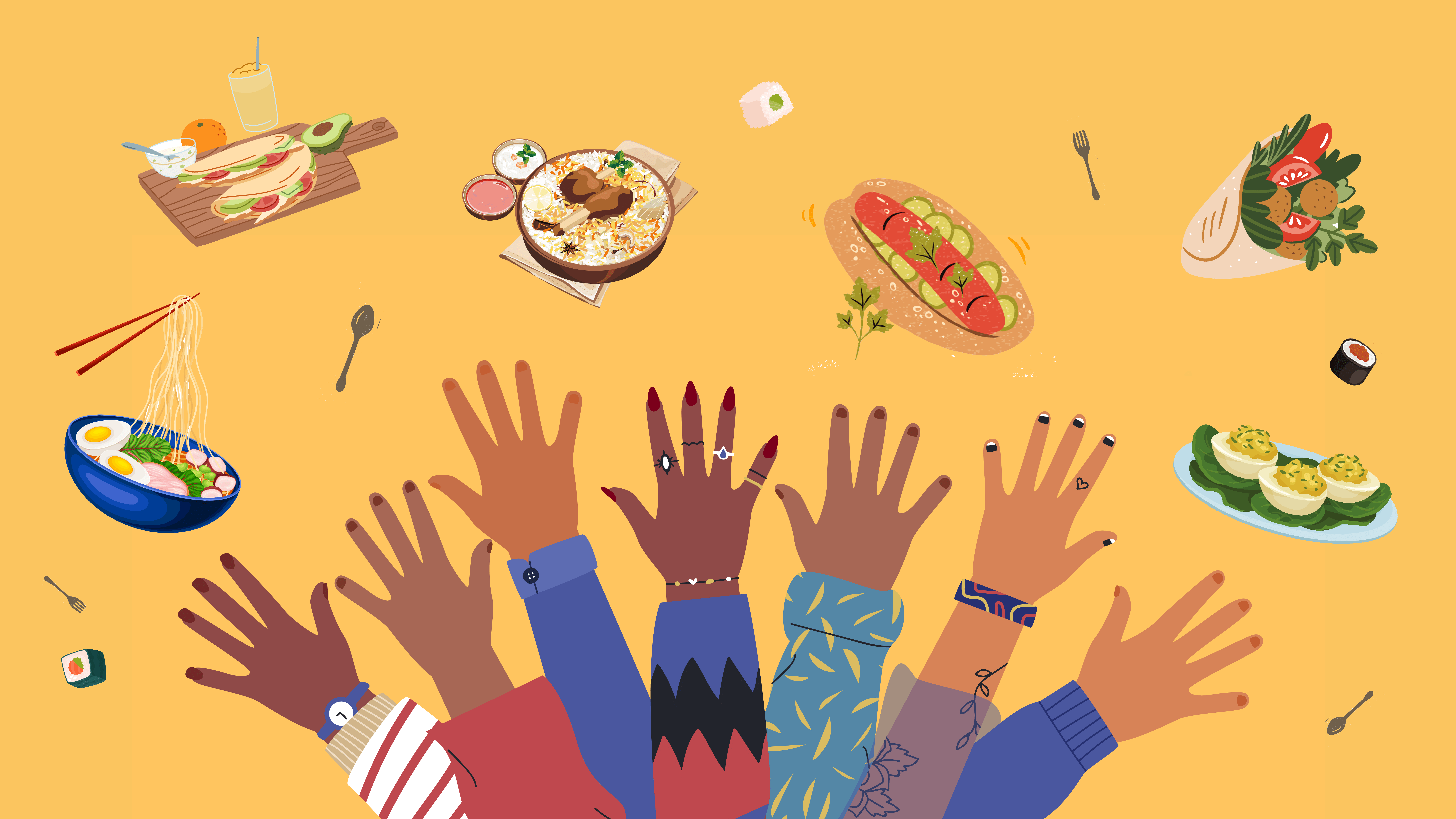 How SMEs can use food to enhance workplace culture diversity
