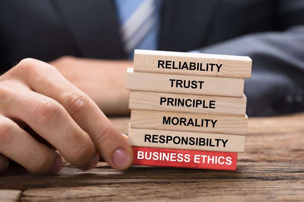 Bujsiness ethical behaviour and how it matters