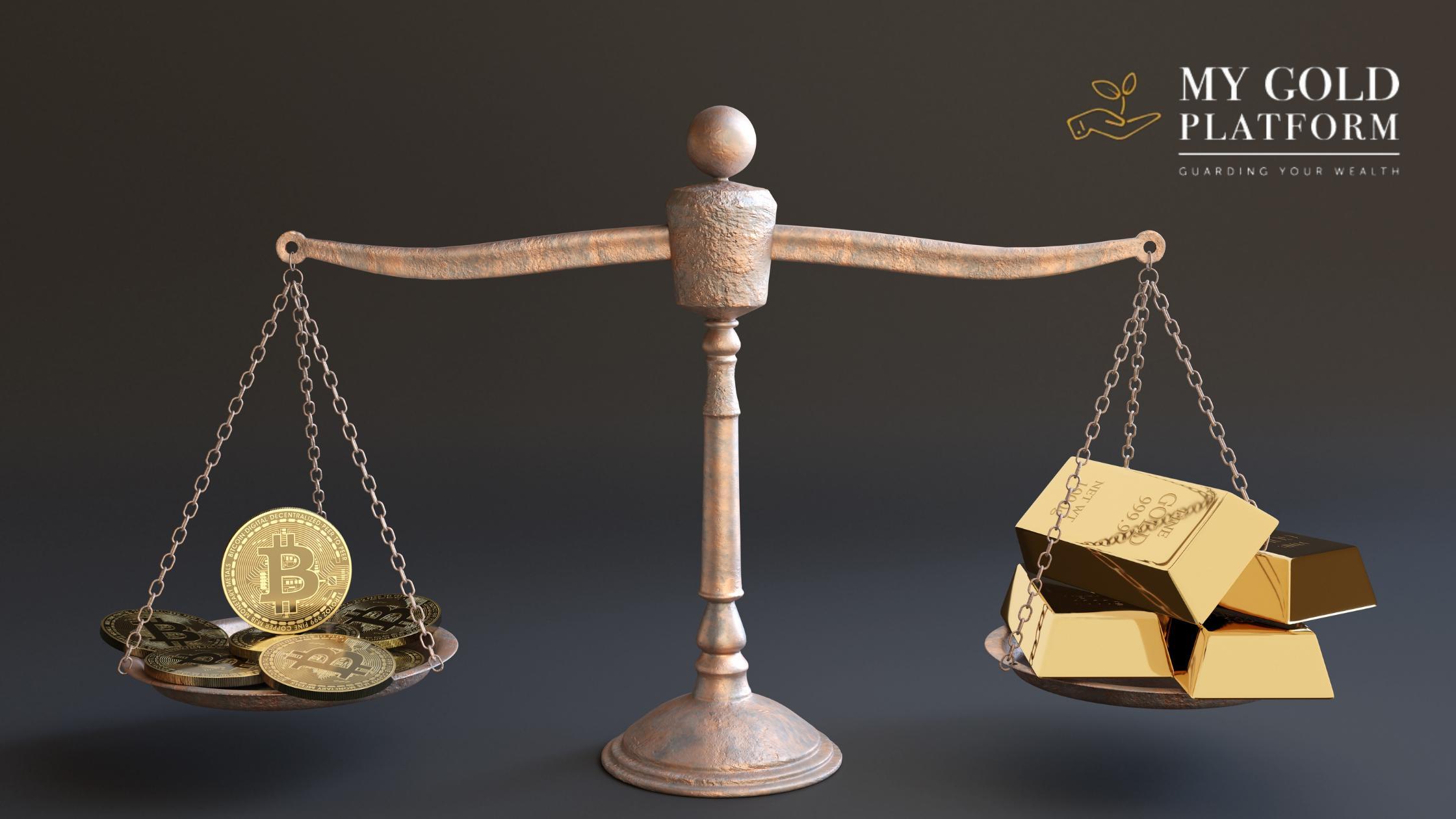 Cách chuyển từ tiền điện tử sang vàng và bảo toàn tài sản của bạn